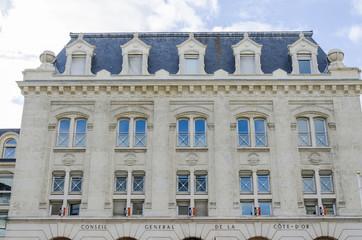 Conseil Général de Cote D'or, burgundy, france