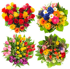 flower bouquets for Birthday, Valentines Day, Easter, Mothers Da