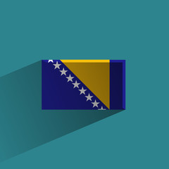 Bosnia and Herzegovina. Vector format