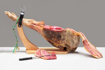 Spanish ham. Jamon Serrano