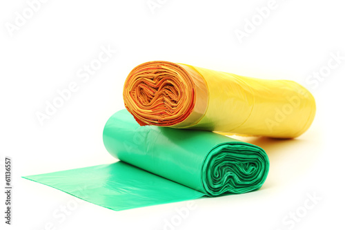 Disposable bags roll