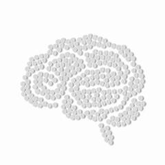 symbol of brain pills