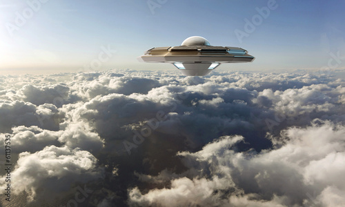 Foto op Canvas unidentified flying object
