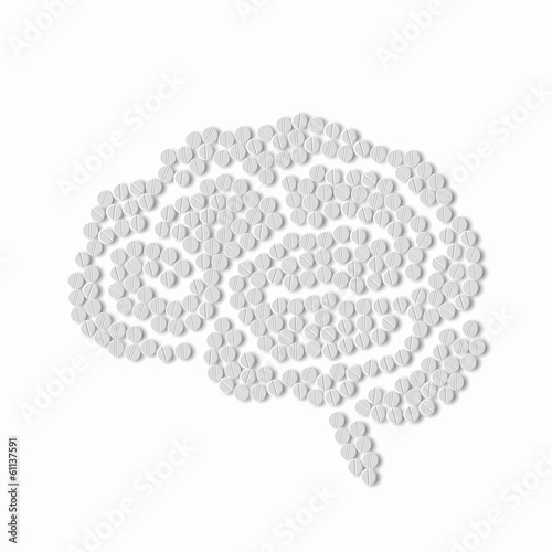 symbol of brain pills