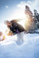 play snow