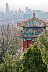Guanmiao Pavilion in Jingshan Park, Beijing, China