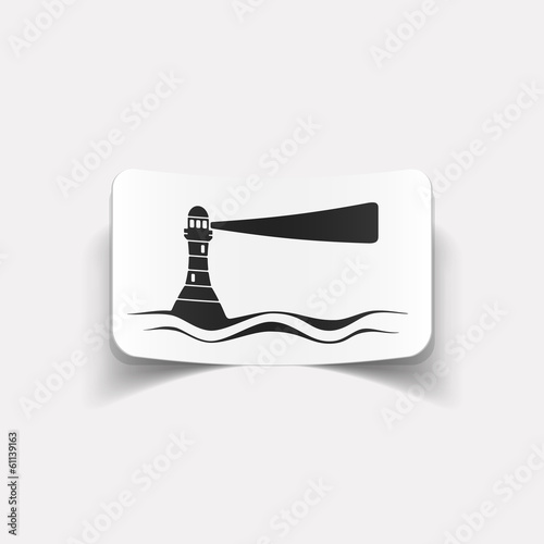 realistic design element: lighthouse