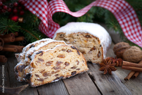 Christmas time, stollen