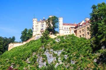 The castle of Hohenschwangau