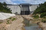 Kamchay dam near Kampot in Cambodia..