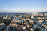Panorama of Belgrade by day