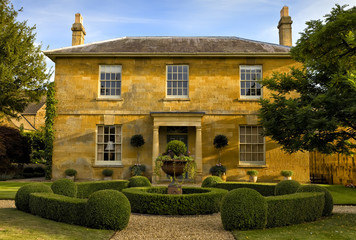 Traditional house in the cotswolds, England