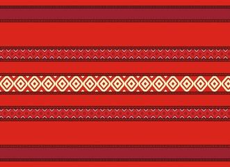 Bulgarian seamless decorative traditional design pattern