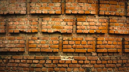 Brick wall Raw Quality