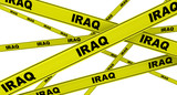 IRAQ. Yellow ribbons with the inscription