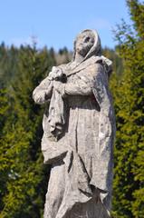 Mary Mother of Jesus, Horna roven Calvary