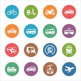Fototapety Transportation Icons - Dot  Series