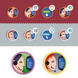 IP-communication icons