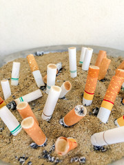 Cigarettes butts