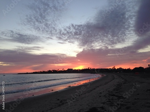 sunset at santa barbara © DavidArts