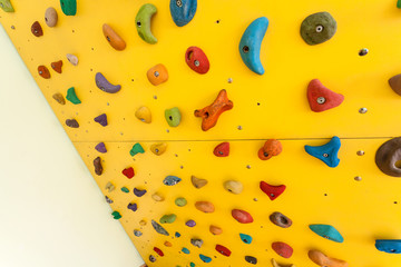 Small climbing wall for children