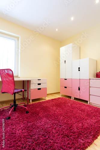 Nice pink room for girls