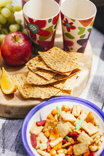 crispbreads and picnic snacks