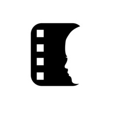 Face on a filmstrip