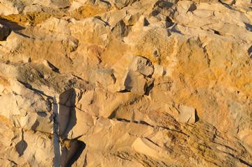 Limestone rock