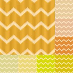 seamless yellow chevron pattern