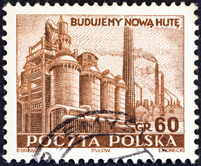 Smelting Works (Poland 1951)
