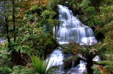 Triplet falls, Otway State Park, Australia