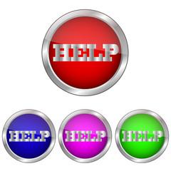 векторная кнопка помощь,справка
