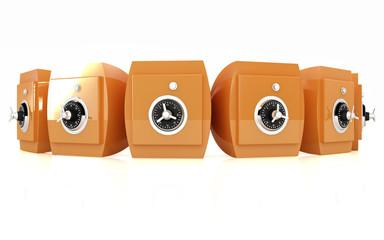 Several safes