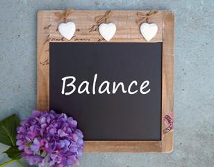 Entspannung - Balance