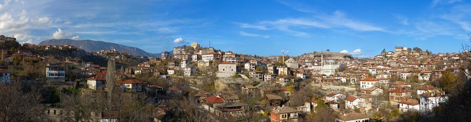 Safarnbolu - panorama of traditional Ottoman town, Turkey