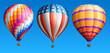 Hot air balloons set three - 61155339