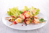grilled chicken kebab
