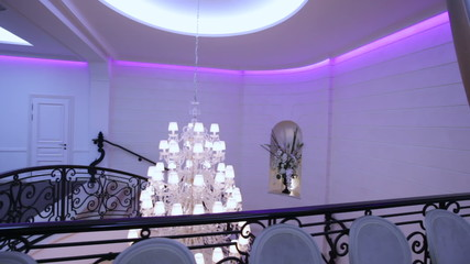 Chandelier for railings