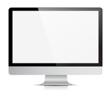 Computer Monitor Display Isolated