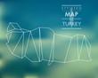 stylized map of Turkey