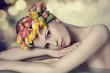 lovely spring girl