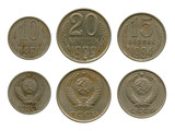 copper-nickel coins USSR, sample 1961
