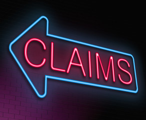 Claims concept.