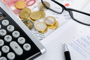 Kalkulation von Einkommen
