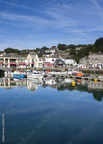 Padstow Harbour Cornwall England UK