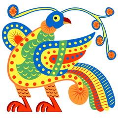 Fabulous bird - phoenix.