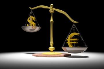 Bilancia dollaro euro