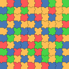 pattern of colorful puzzle.multicolored mosaic.abstract backgrou