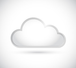 cloud border illustration design